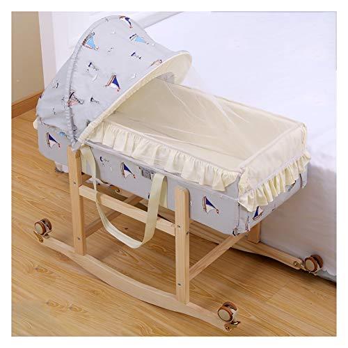 Find Discount RRH-Cribs Crib Travel, Portable Multi-Function Newborn Bionic Pressure-Proof Folding C...