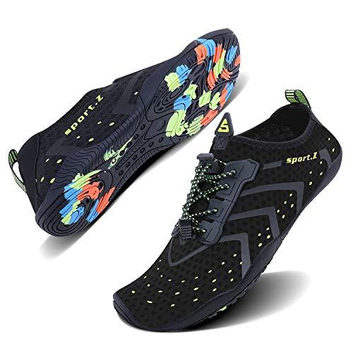 WXDZ Water Shoes Aqua Sports Sneakers Slip on Quick Dry for Men Women Kids Fishing