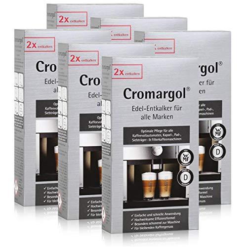WMF Cromargol Edel-Entkalker für Kaffeevollautomaten uvm. 2x100ml (6er Pack)