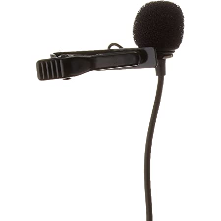 Saramonic SR-GMX1 Platinum Lavalier Clip-on Microphone with Lapel Clip, Foam and Furry Windscreens