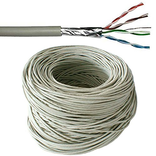 100 M CAT5e FTP geschirmt Kabeltrommel/Drum-Pure Copper-ETHERNET Netzwerk LAN RJ45