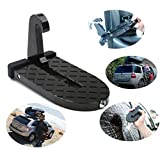 car door step made of aviation aluminum alloy.Support up to 500 pounds, great for packing luggage, Surf board, or other bulky Items on car roof rack without any struggle as to make full use of in-car space, compatible with most kinds of car,such as S...
