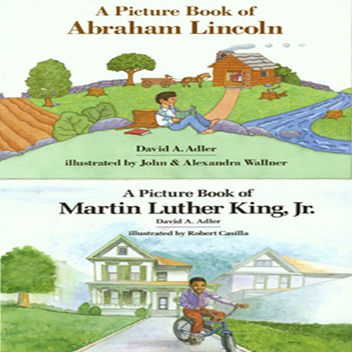 'A Book of Abraham Lincoln' and 'A Book of Martin Luther King, Jr.' cover art