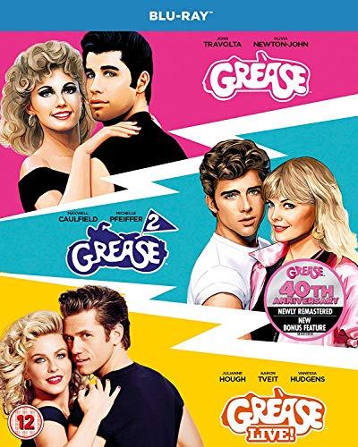 Blu-ray3 - Grease/ Grease 2/ Grease-Live - 40Th Anniversary (3 BLU-RAY)