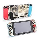 Coque de protection pour Nintendo Switch, tampons noirs pour bouteille de vin, coque durable pour Nintendo Switch et Joy Con