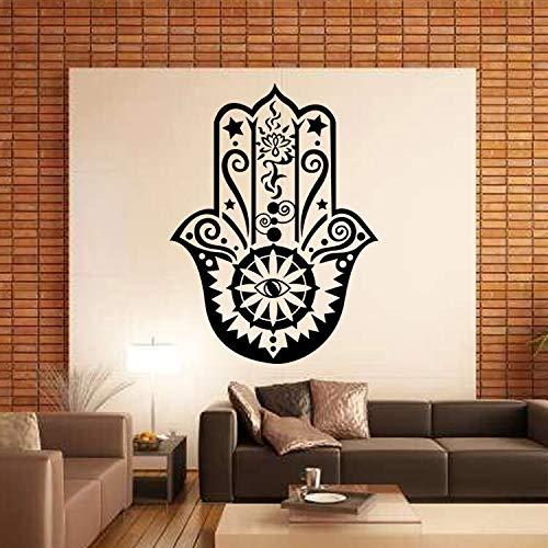 Pegatinas de pared islámicas musulmanas decoración del hogar cartel calcomanía lema Mural adhesivo de pared papel tapiz A3 42X56CM