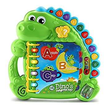 LeapFrog Dino s Delightful Day Alphabet Book Green