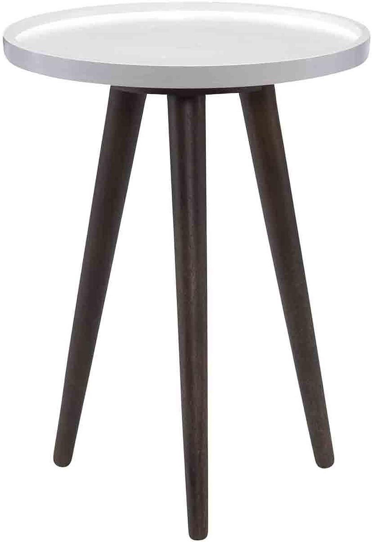 World Modern Design BZ-1013-20 Blossom End Table, Brown