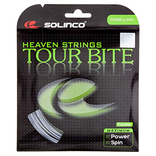 Solinco Tour Cuerdas de picada, Unisex, Tour Bite, Plata