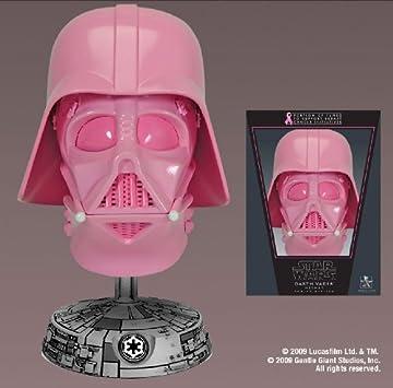 Pink Darth Vader Helmet