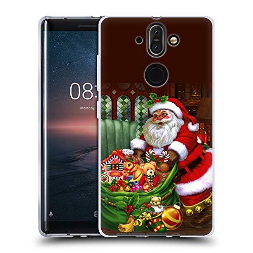 Head Case Designs Oficial Simone Gatterwe Los Regalos Invierno Eterno Carcasa de Gel de Silicona Compatible con Nokia 8 Sirocco