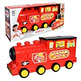 ETbotu Spielhaus Simualtion Geschirr Lagerung Lokomotive Küche Kochen Spielzeug Set Puzzle...