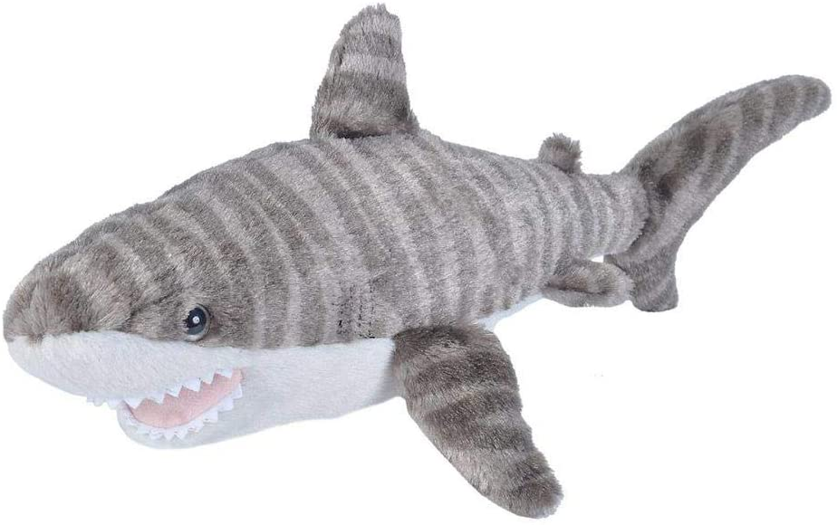 Wild At the price of surprise Republic Limited time cheap sale Tiger Shark Plush Stuffed Gift Animal Toy
