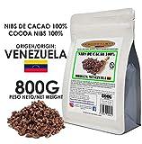 Cacao Venezuela Delta - Nibs De Cacao · Origen Venezuela · 800g - Calidad Premium