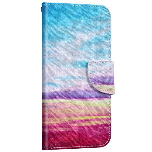 Saceebe Compatible avec Samsung Galaxy Note 10 Plus Coque Cuir Etui Pochette Portefeuille Housse 3D Effet Motif Coloré Wallet Flip Housse Coque Porte-