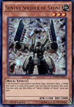 Yu-Gi-Oh! - Sentry Soldier of Stone (MVP1-EN012) - The Dark Side of Dimensions Movie Pack - 1st Edition - Ultra Rare
