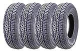 Set of 4 New Premium WINDA Trailer Tires ST 225/75R15 10PR Load Range E...
