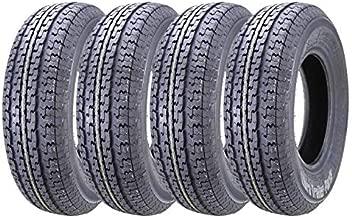Set 4 WINDA Trailer Tires ST205/75R14 8PR Load Range D Steel Belted