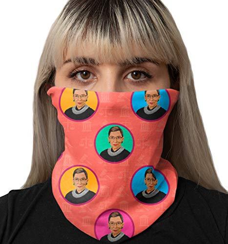 Bad Bananas Ruth Bader Ginsburg - Notorious RBG Neck Gaiters - Washable Reusable Face Masks