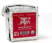 Pride Of India 有機アッサム朝食紅茶、半ポンドの葉茶