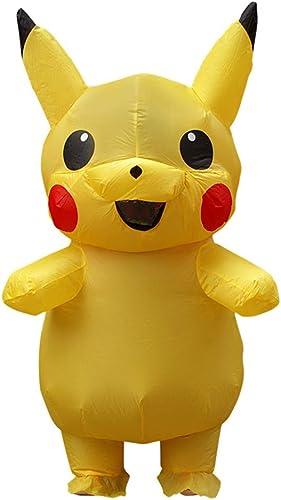 en promociones de estadios BaronHong Inflable Pikachu Fancy Unisex Kids Adulto Holiday Holiday Holiday Holiday Cosplay  tiendas minoristas