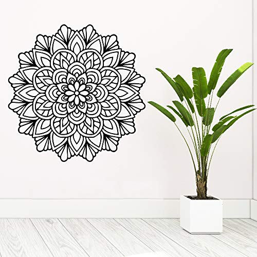 Mandala Mandala wasserdichte Wandaufkleber Wandkunst Dekoration wasserdichte Wandtattoo Wohnkultur Kunst Tapete A7 57x57cm