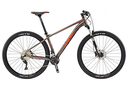 GT 726437M20LG Bicicleta, Unisex Adulto, Multicolor, L