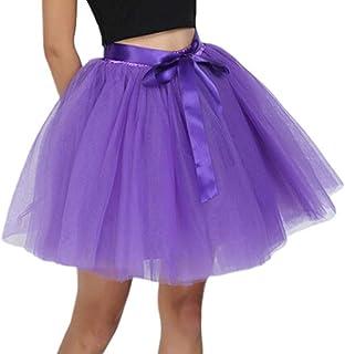 c105a6c93 Amazon.es: falda tutu mujer - Morado