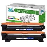 ECSC Compatible Toner Cartucho Reemplazo por Brother DCP-1510 DCP-1512 DCP-1610W DCP-1612W HL-1110 HL-1112 HL-1210W HL-1212W MFC-1810 MFC-1910 MFC-1910W TN1050 (Negro, 2-Pack)