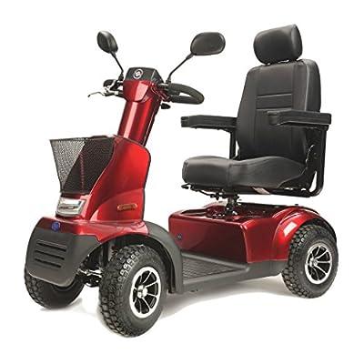 TGA Mobility Breeze Midi 4 Mobility Scooter - Metallic Red