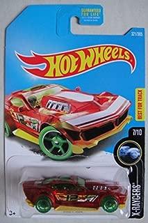 Hot Wheels 2017 Drift Rod Clear Red X-rayers 321/365