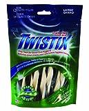 N-Bone Twistix Original Vanilla Mint Treats, Large, 5.5-Ounce