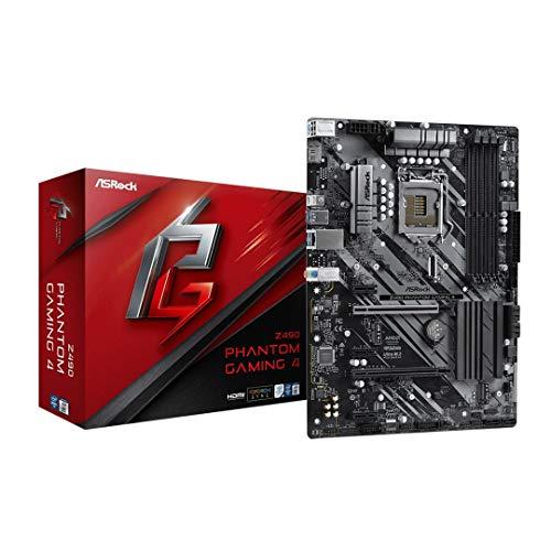 ASRock Z490 Phantom Gaming 4 Supports 10 th Gen Intel Core Processors (Socket 1200) Motherboard