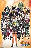 Trends International Naruto Shippuden - Group Wall Poster, 22.375