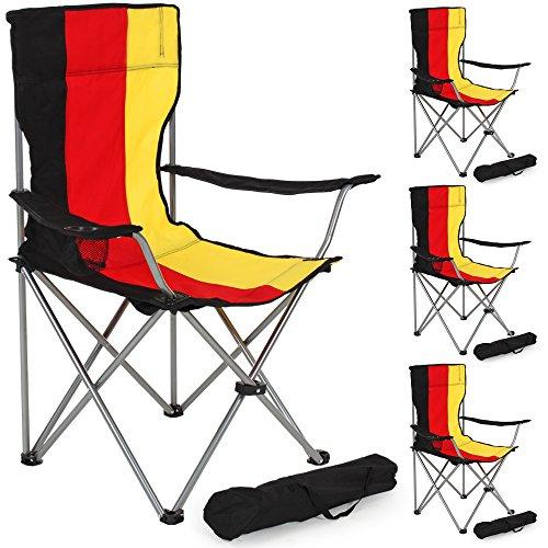 Sillas Plegables Camping Pack Marca TecTake