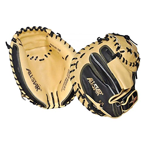 All Star Pro Elite CM3000SBT 33.5 Inch Baseball Catchers Mitt - Right Hand Throw