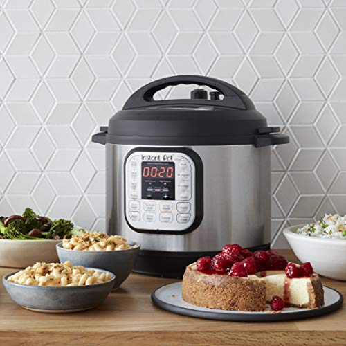 Instant Pot Duo 7-in-1 Electric Pressure Cooker, Slow Cooker, Rice Cooker, Steamer, Saute, Yogurt Maker, and Warmer, 8 Quart, 14 One-Touch Programs