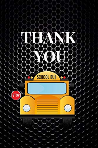 Thank You: Appreciation Gift For School Bus Driver|Thank You Gag Gift For Professional Drivers| Cute