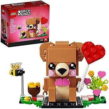 LEGO BrickHeadz Valentine's Bear 40379 Building Kit