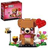 Brickheadz 40379 - Orso di San Valentino, 150 Pezzi