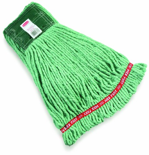 Rubbermaid Commercial FGA25206GR00 - Mopa húmeda, sin encogimiento, color verde