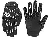 Seibertron B-A-R PRO 2.0 Signature Baseball/Softball Batting Gloves Super Grip Finger Fit for Youth Black S
