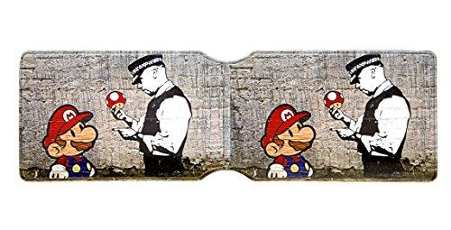 Urban Gifts , Fahrausweishülle Mehrfarbig Mario
