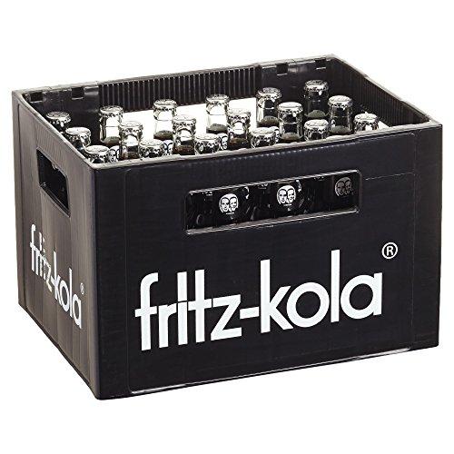 Fritz-kola Koffeinhaltige Limonade MEHRWEG, (24 x 330 ml)