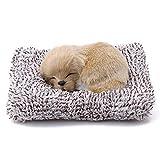 Ycco Muñeco de Peluche Juguetes de Peluche Precioso simulación 3D de Labrador / Husky Felpa de la muñeca Sleeping Dogs Animales de Juguete de niños Juguetes de acostarse Huggable de la Almohadilla de