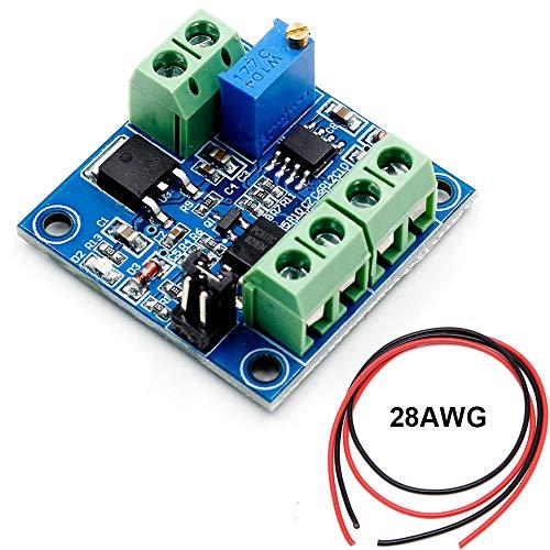 Youmile PWM-zu-Spannungsmodul PWM-zu-Spannungswandler 0% -100% PWM-zu-0-10V-Spannung für das Umschalten der Schnittstelle zwischen Digital- und Analogsignal für SPS
