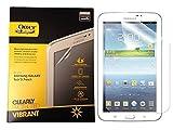 OtterBox muster Clearly Protected Vibrant - Protector de pantalla para Samsung Galaxy Tab 3 (17,8 cm/7'), color negro