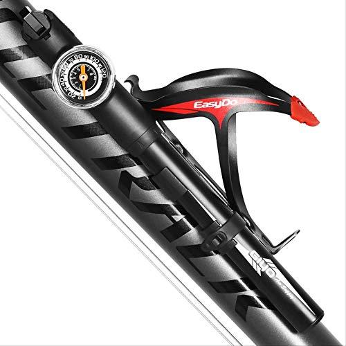 Busirsiz Mountain bike portable gas cylinder with barometer Hand-held barometer magnifying glass gas cylinder