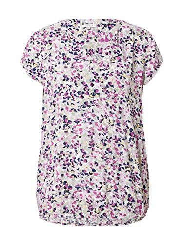 TOM TAILOR Damen 1024062 Print Bluse, 27264-Offwhite Floral Design, 34