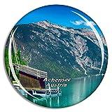Weekino Achensee Österreich Kühlschrankmagnet 3D Kristallglas Touristische Stadtreise Souvenir Collection Geschenk Starker Kühlschrank Aufkleber